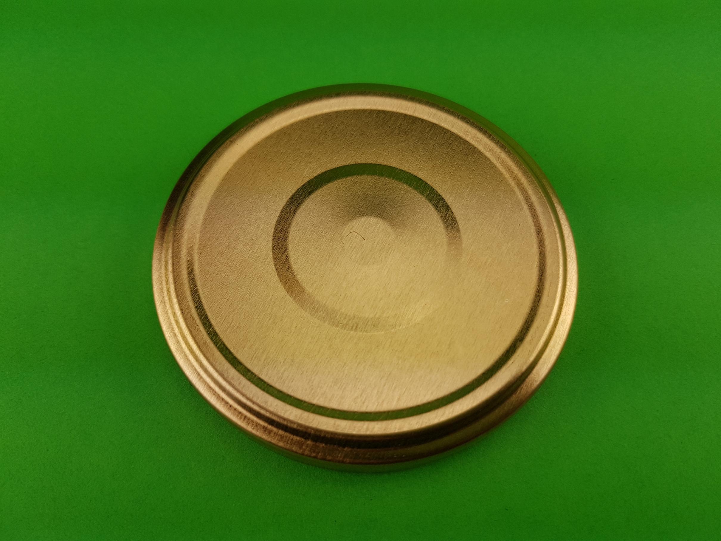 Deckel Für Gläser 70 Mm Twist Off Farbe Gold