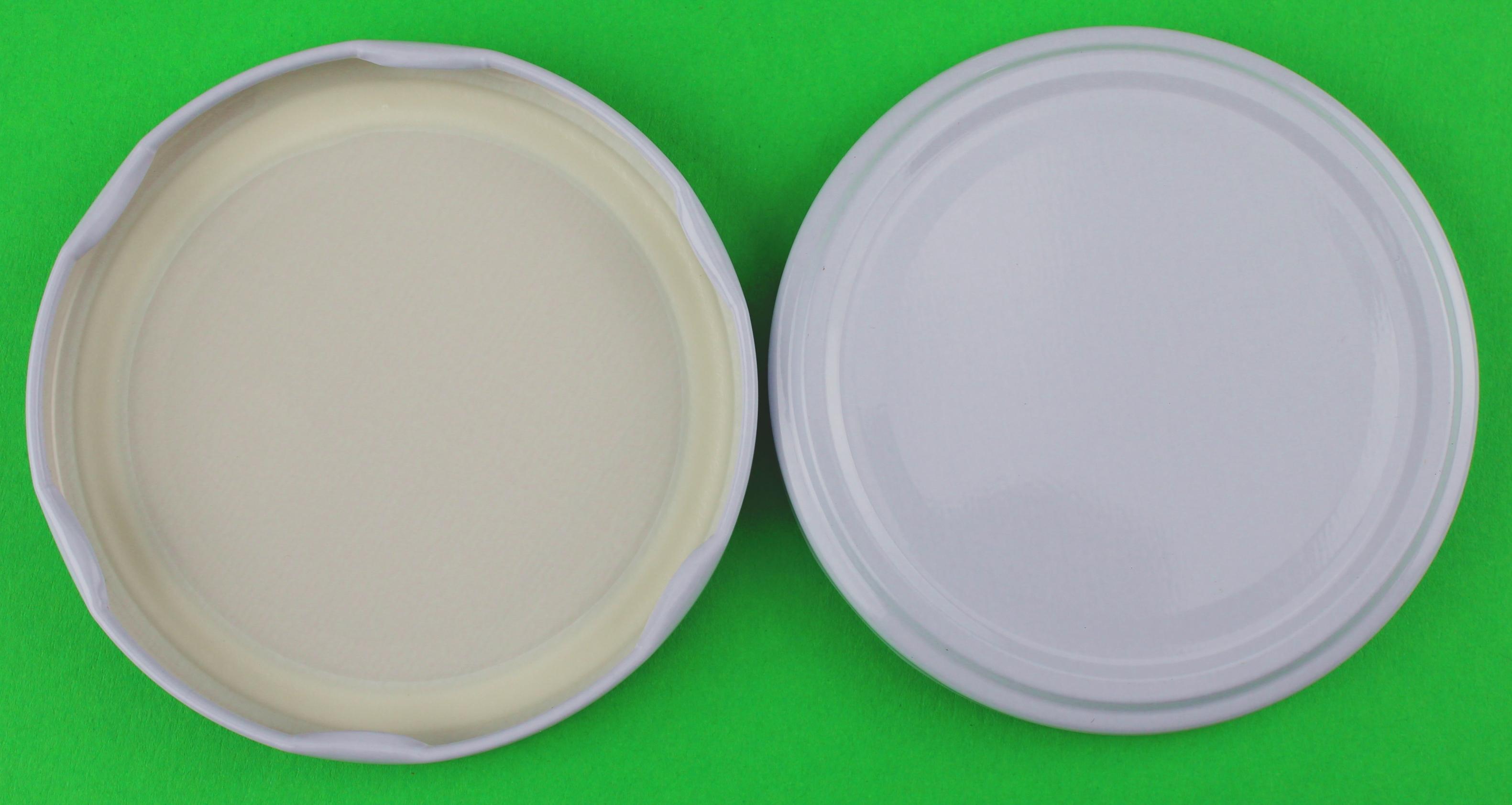 Deckel Für Gläser 77 Mm Twist Off Farbe Weiß