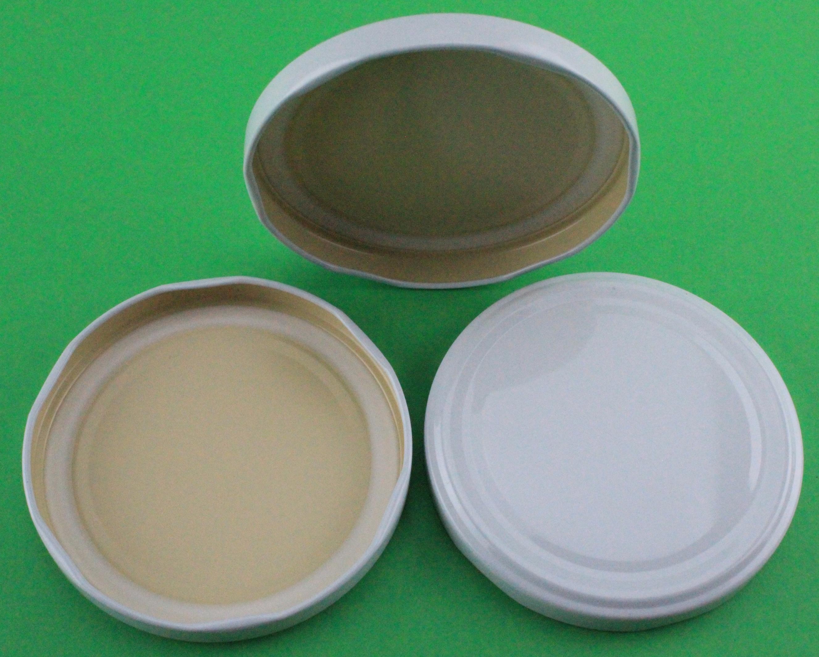 Deckel Für Gläser 89 Mm Twist Off Farbe Weiß